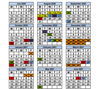 Miami Dade School Calendar 2021-22 Miami Dade County School Board approves 2020 21 school calendars