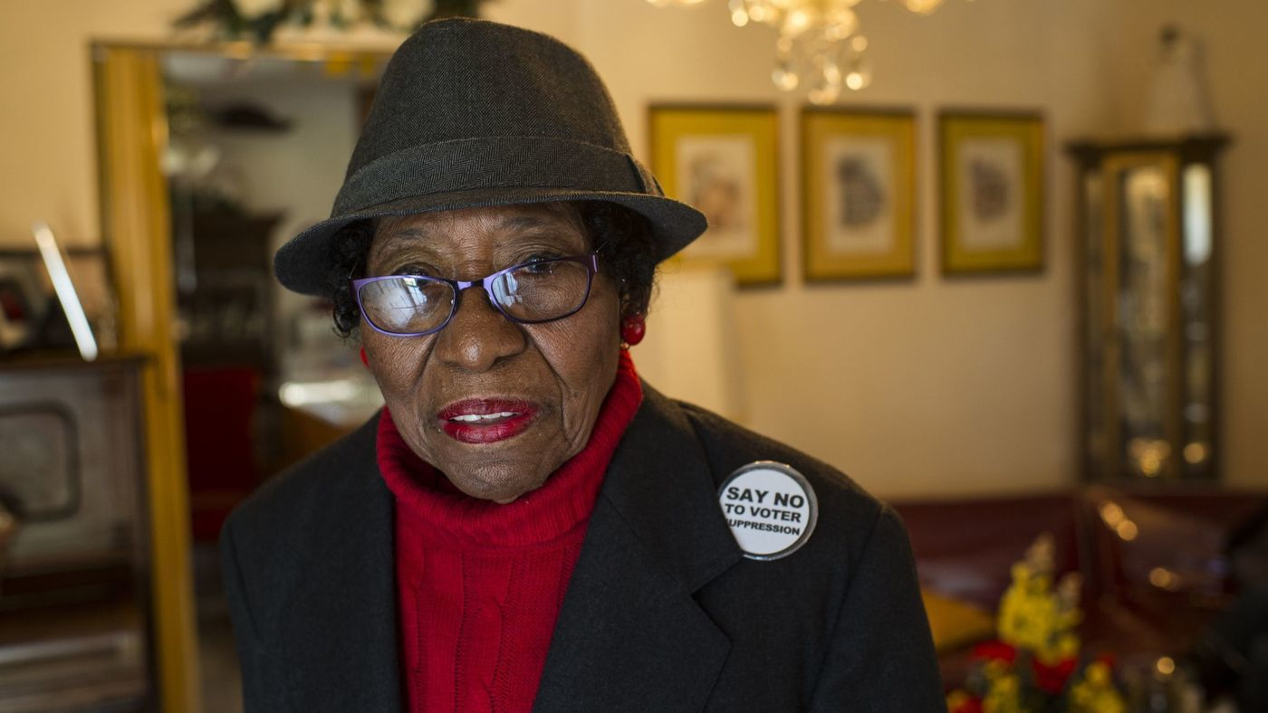 Rosanell Eaton, Queen Mother of voting rights, dies at 97   Miami Times Online