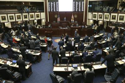 The Florida House in session