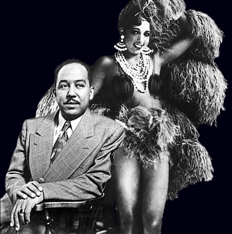 Langston Hughes and Josephine Baker