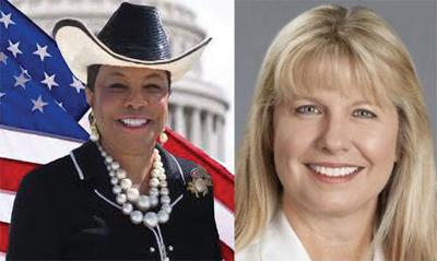 Congresswoman Frederica S. Wilson and Dr. Lisa Gwynn