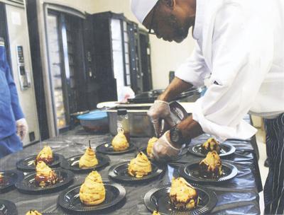 Inmates learn culinary trade