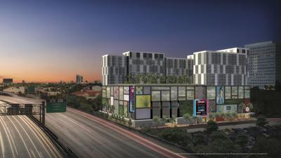 A rendering of the Sawyer's Walk affordable housing