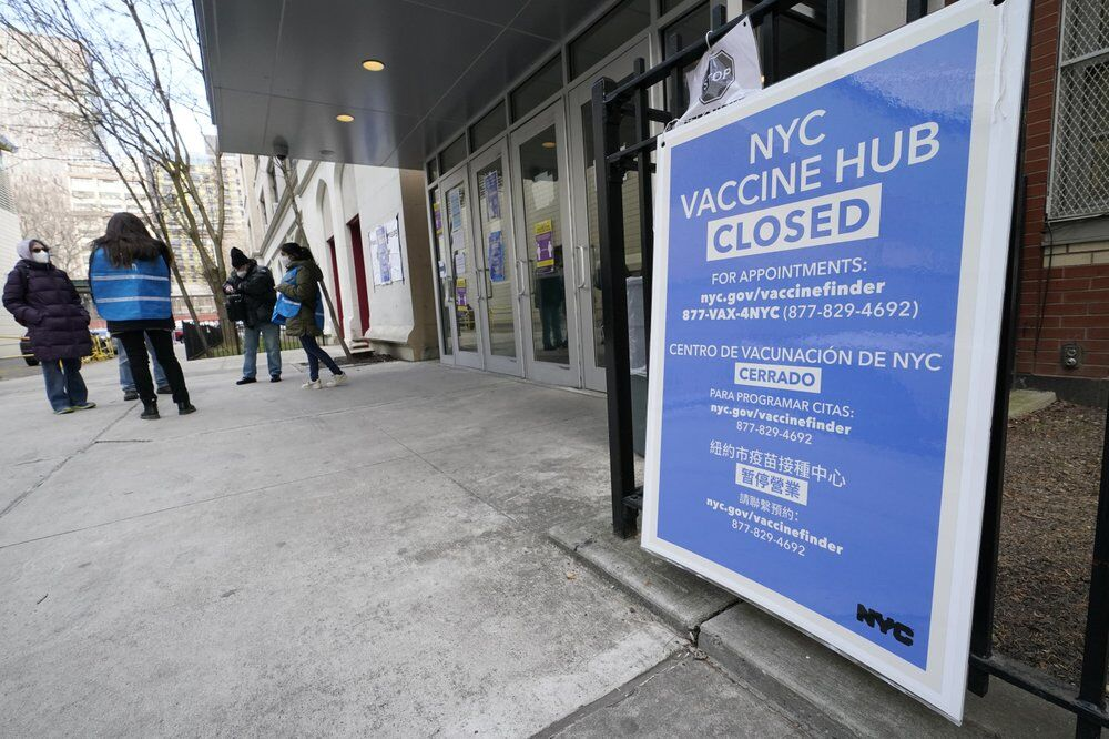 Closed vaccine hub