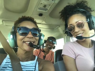 The White's in flight