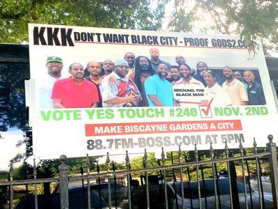 Biscayne Gardens incorporation vote heats up