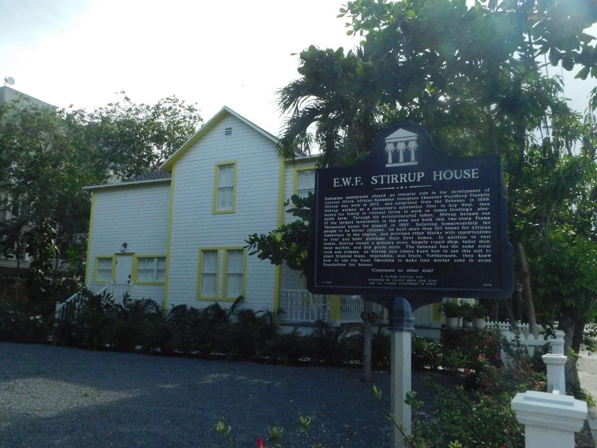 The newly renovated EWF Stirrup House