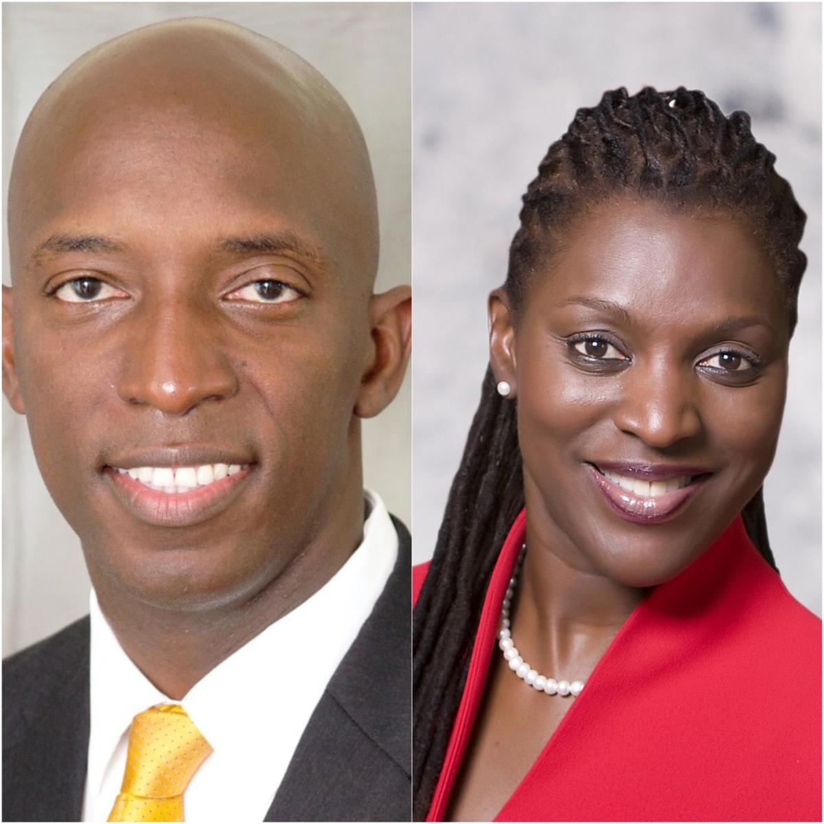 Mayor Wayne Messam and Commissioner Alexandra Davis