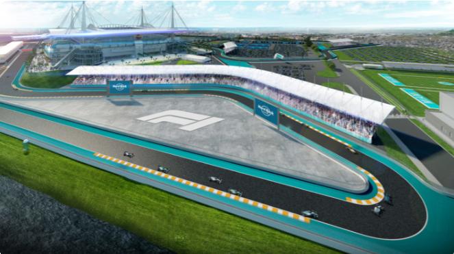 Previous F1 rack rendering