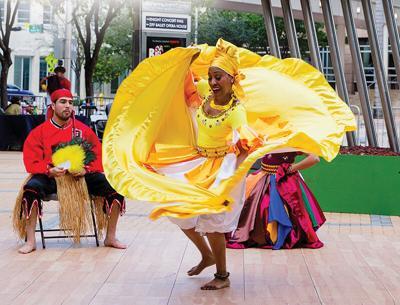 AfroCuban Dance Project performing