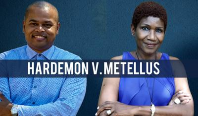 Keon Hardemon and Gepsie Metellus