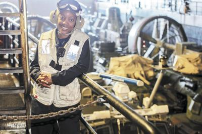 A first of a kind: A female Black Boatswains Mate Chief