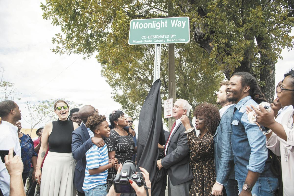 """A section along Northwest 22nd Avenue has been renamed to """"Moonlight Way"""""""