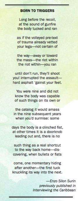 Enzo Silon Surin poem