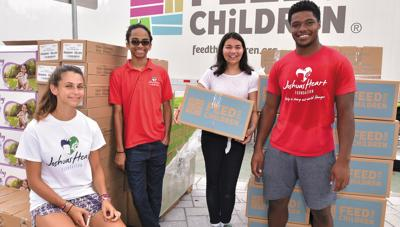 helping with hunger- and poverty