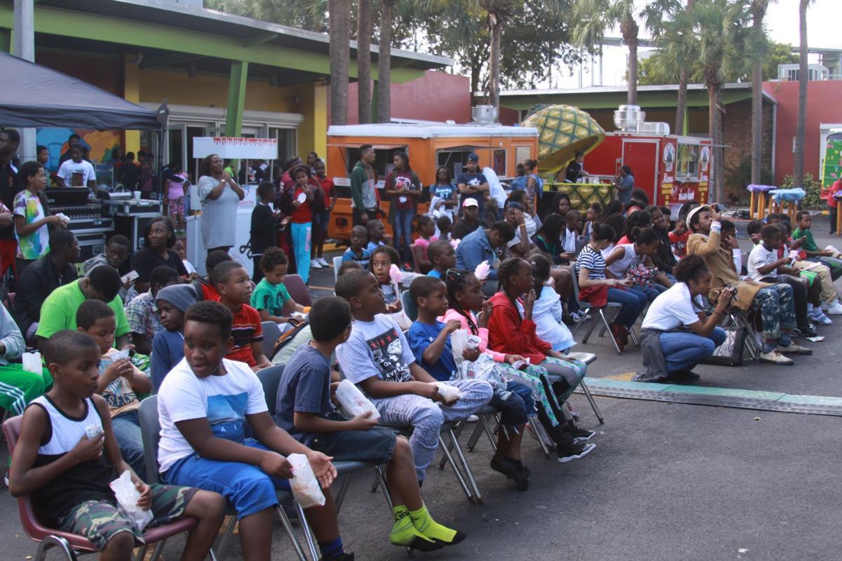 Crowd at Enrichment Festival