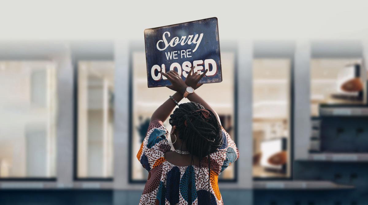 We're closed