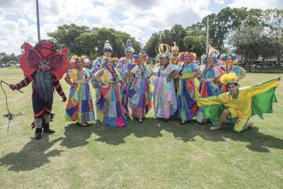 Folkloric dance group