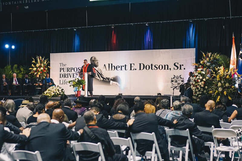 A homegoing ceremony