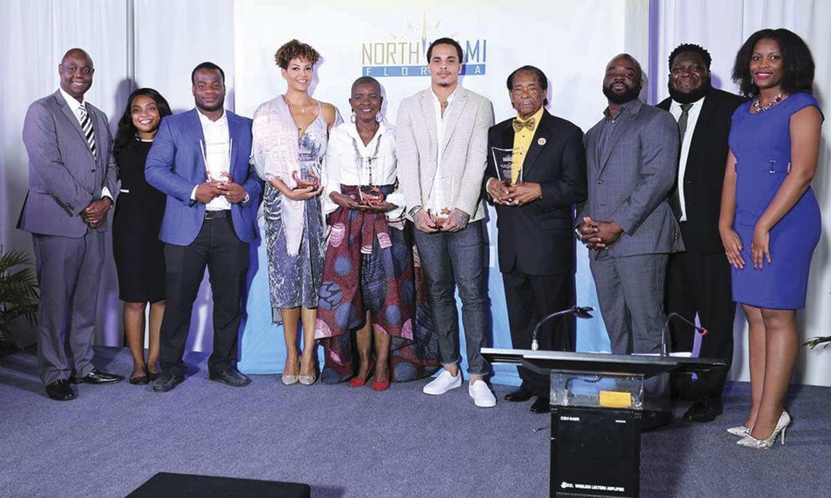 North Miami honorees