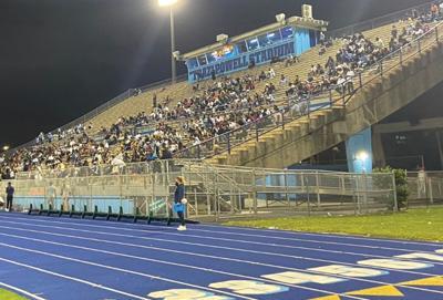 Fans in attendance