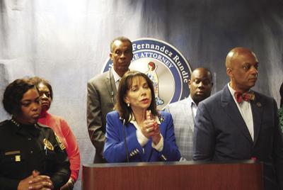 Miami Gardens press conference