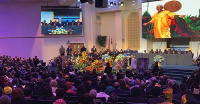 Sadie Robert-Joseph's funeral