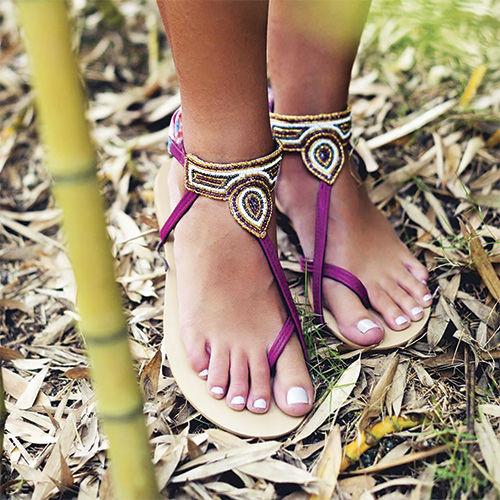 Sandals from Créations Dorées