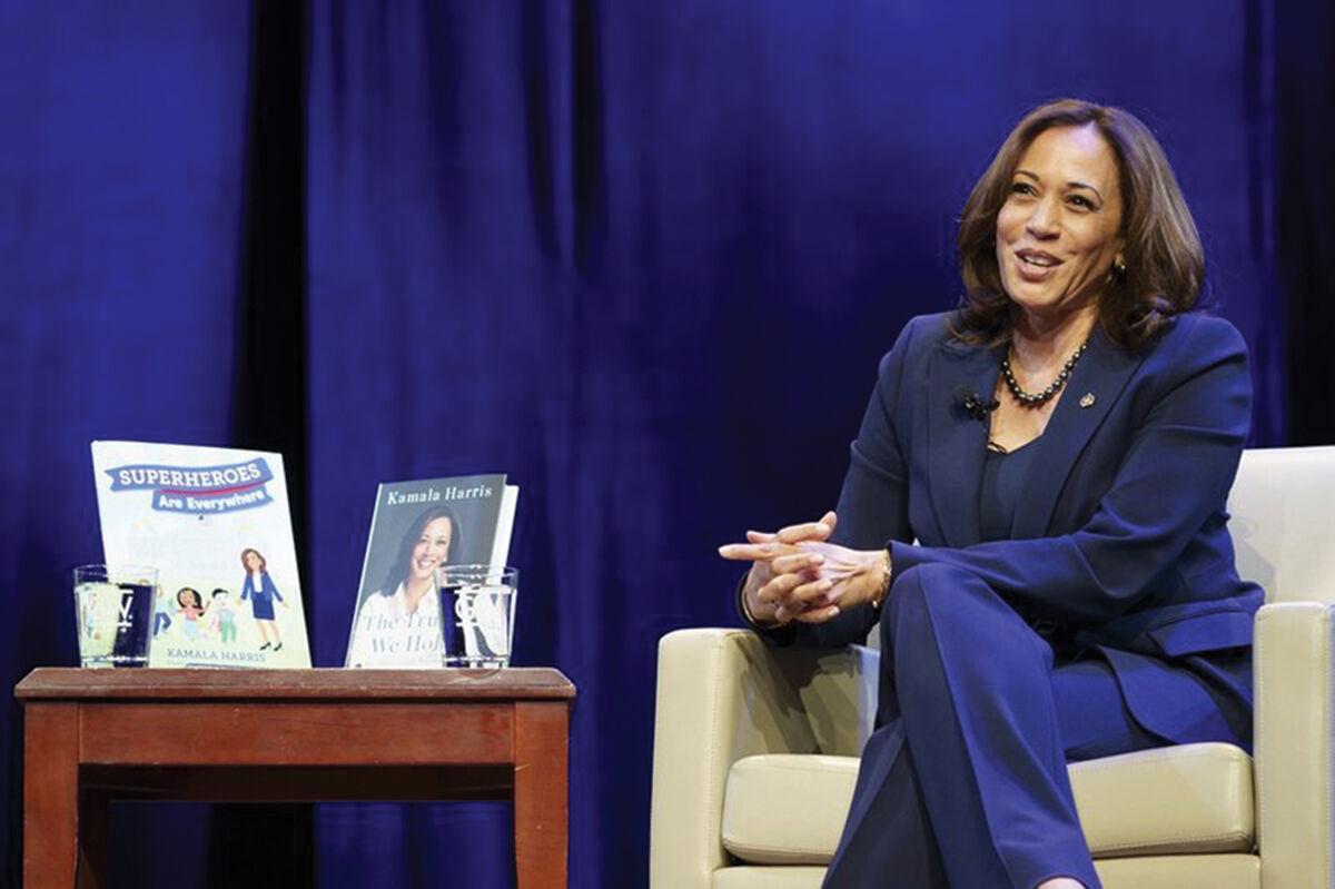 Vice President-elect Kamala Harris book