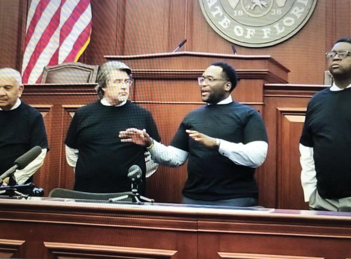 Florida Black Caucus members
