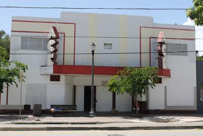 exterior ace theater