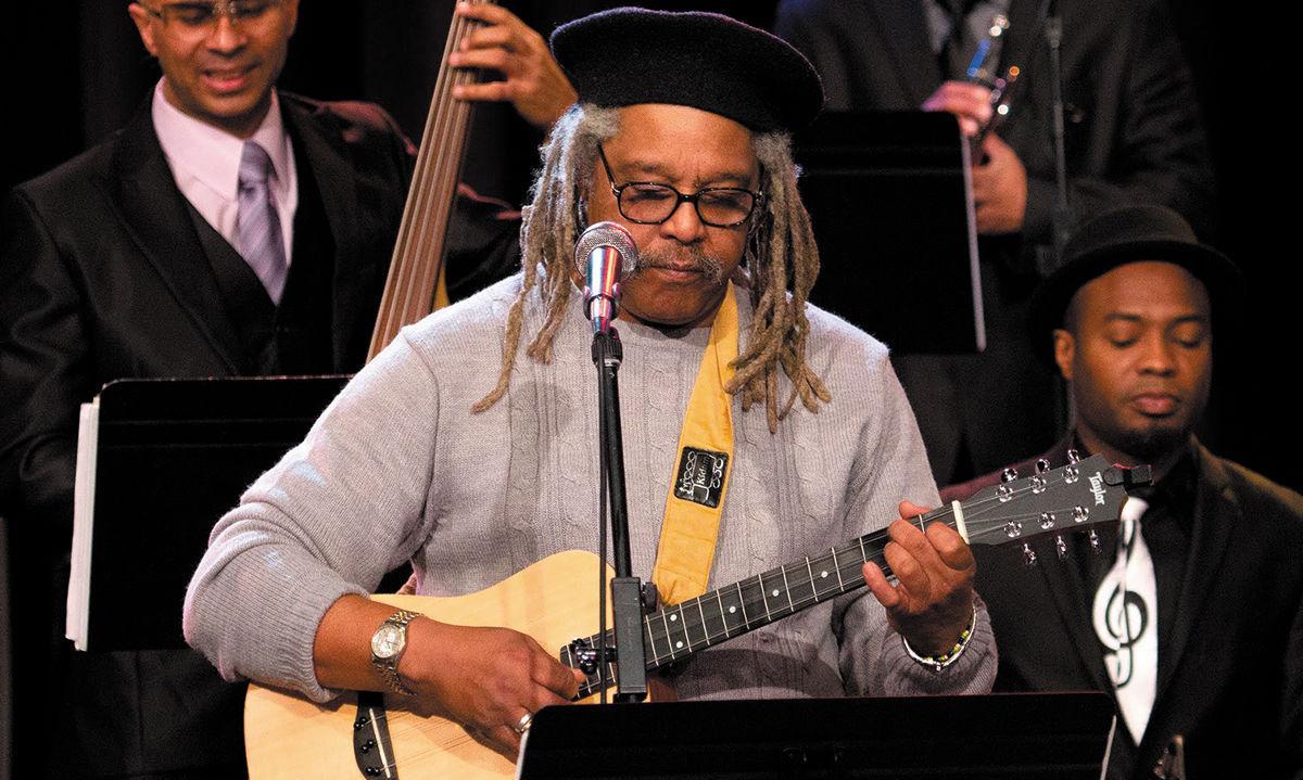 Juan De Marco González conducts the Afro-Cuba All Stars Orchestra ...
