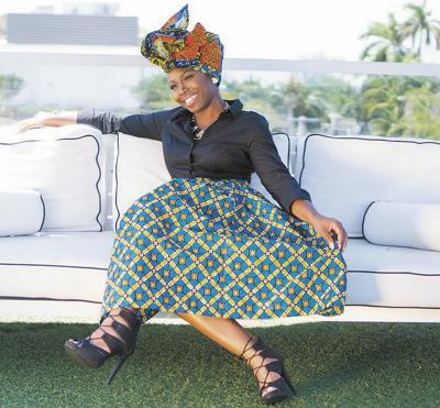 Head wraps have become the new style among Black women