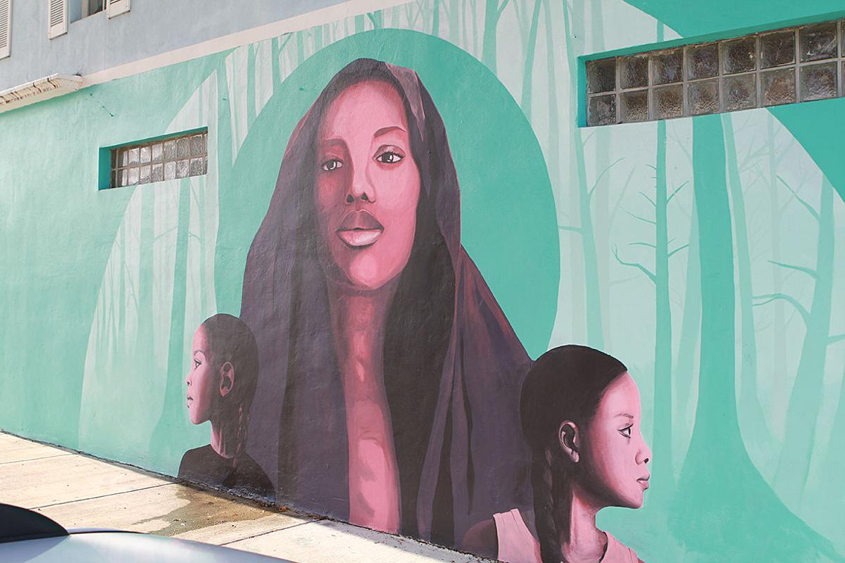 The Color Dreamers mural
