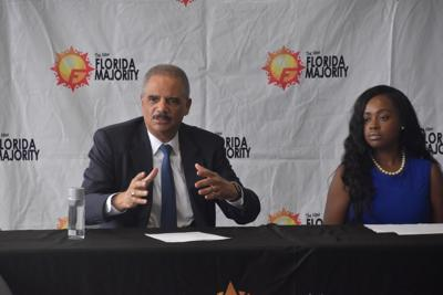 Eric Holder in Miami to address election redistricting ...