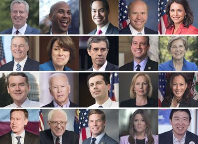 Democratic debaters