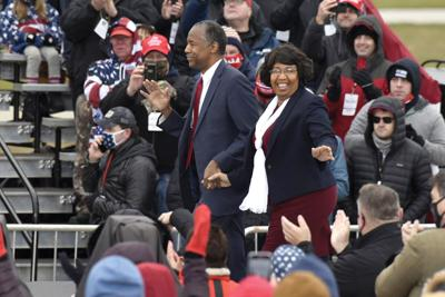 Ben Carson and wife Candy
