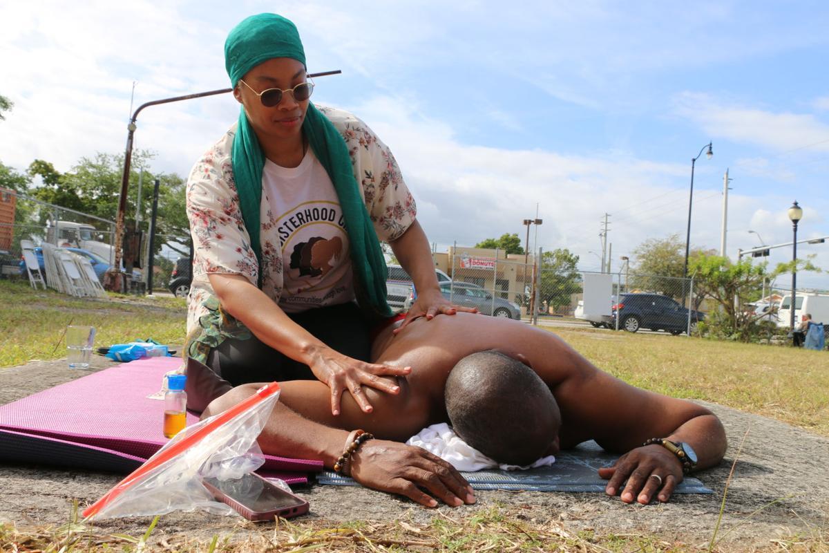 Hunger 9 strike massage