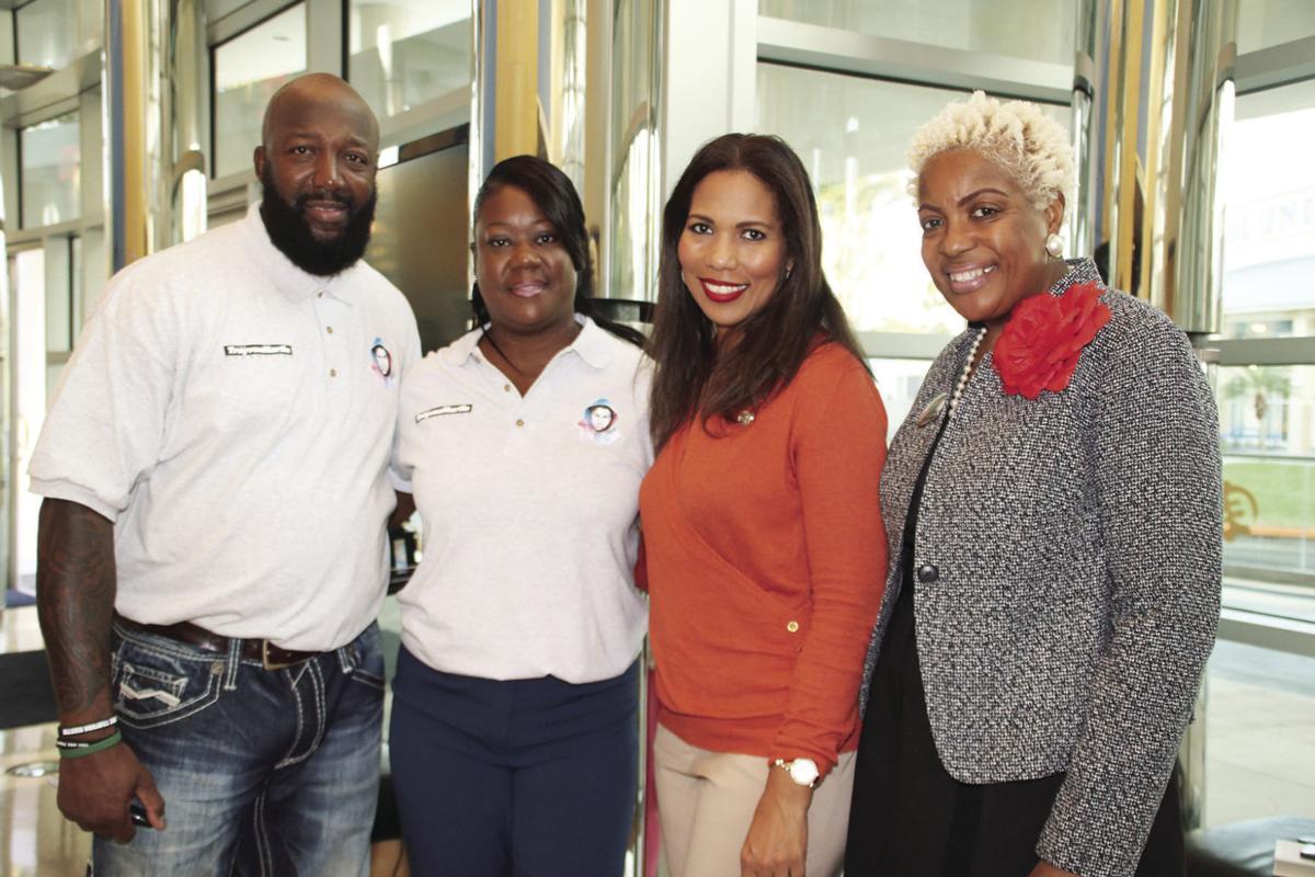Sybrina Fulton and Tracy Martin at Florida Memorial University