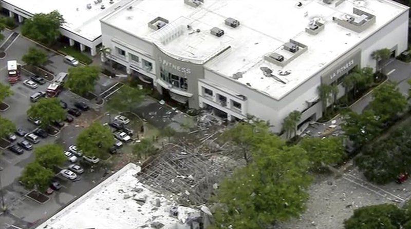 Explosion at Broward Mall