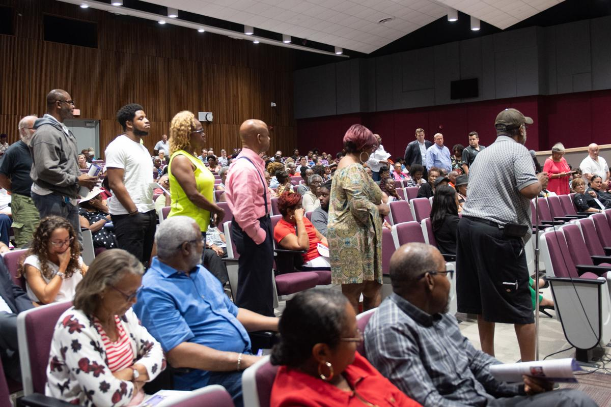 Miami Gardens residents protest Formula 1 racing