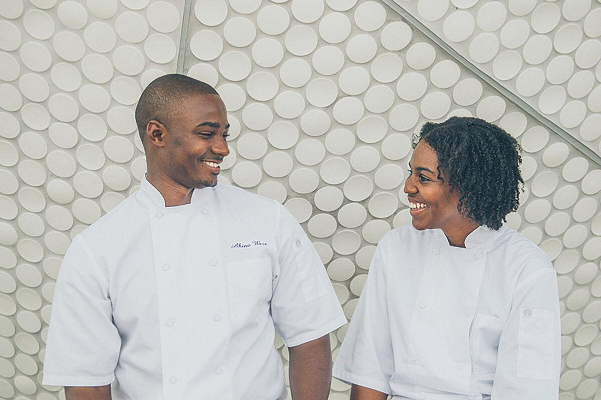 Akino West and Jamila Ross of Rosie's