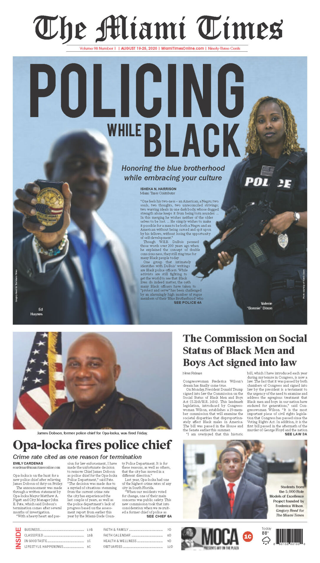 The Miami Times August 18-25, 2020