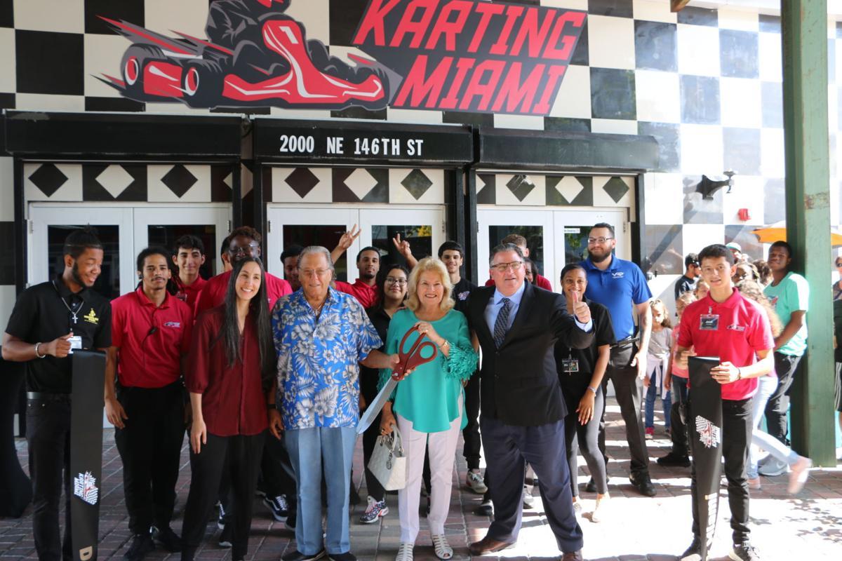 Karting Miami grand opening