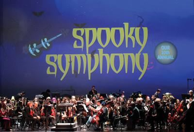 Spooky Symphony concert