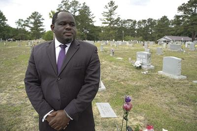 Funeral director Shawn Troy