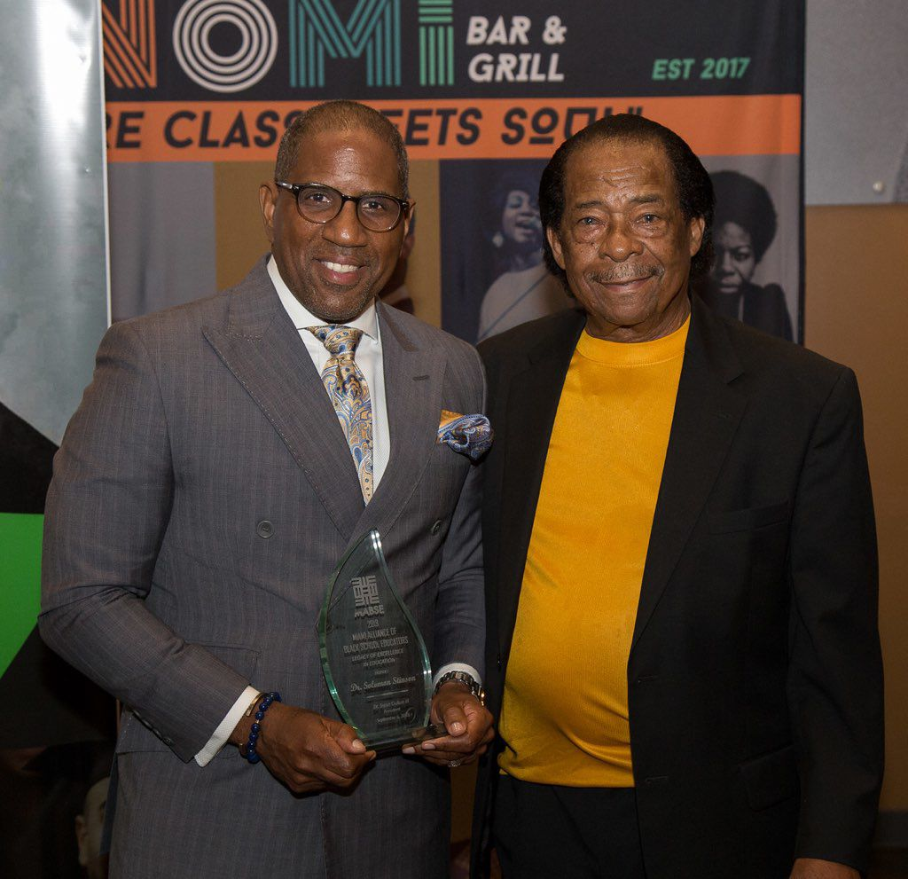 Dr. Steve Gallon III and Dr. Solomon Stinson