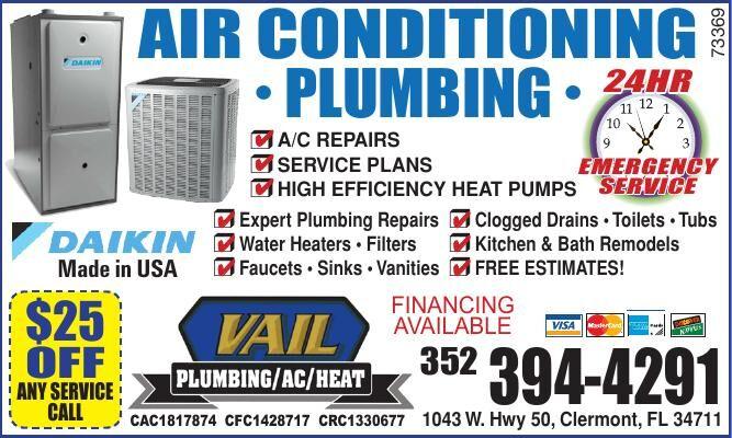 Ronald Vail Plumbing & AC