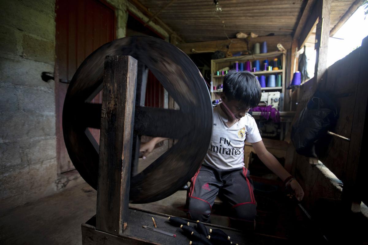 Virus Outbreak Mexico - Child Labor