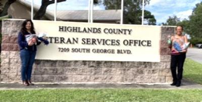 LP Woman's Club donates to HC Veterans Services